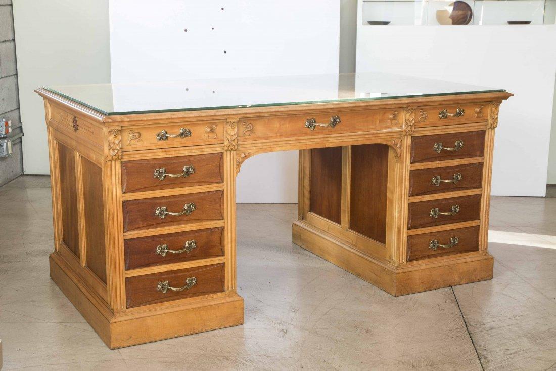 5-Piece Art Nouveau Office Suite - 2