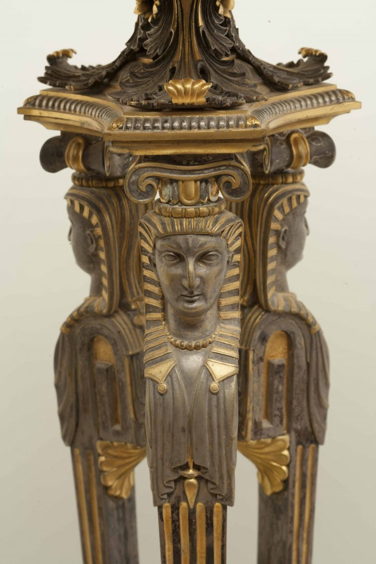 Egyptian Revival Table - 5