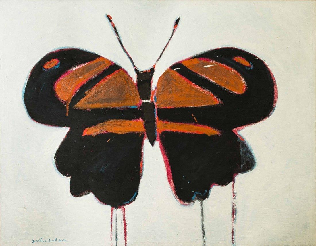 Fritz Scholder (1937-2005) Painting