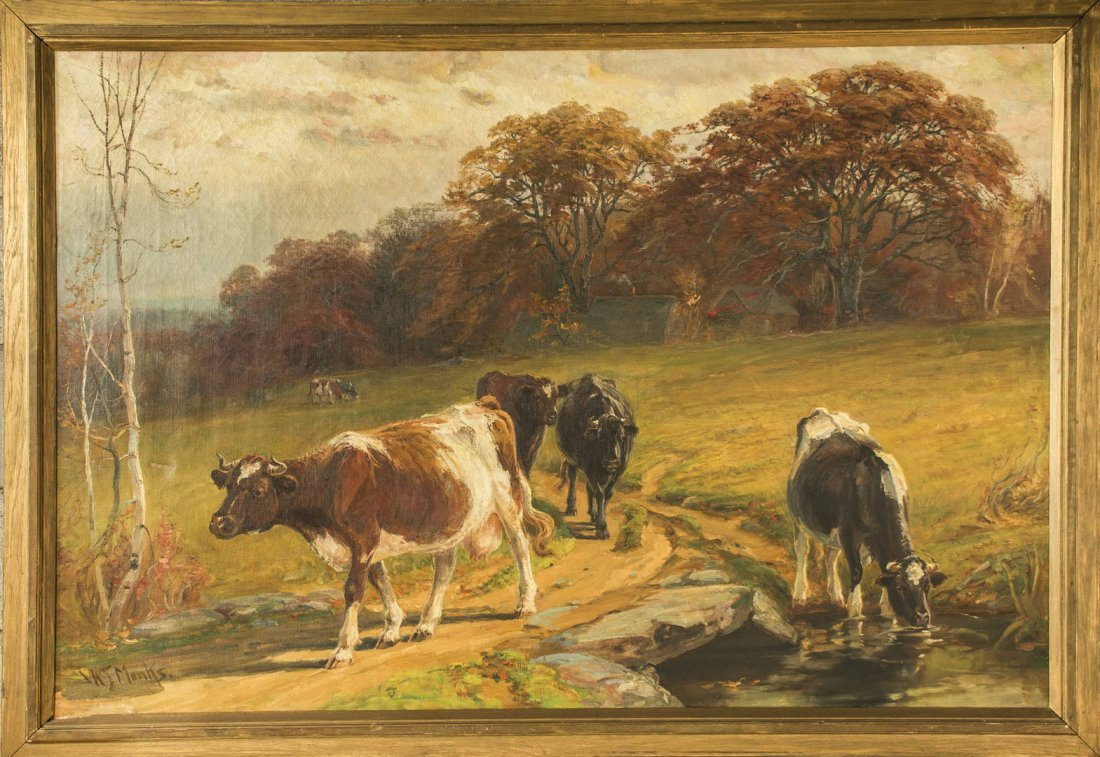 John Monks (1850-1917) Painting - 2