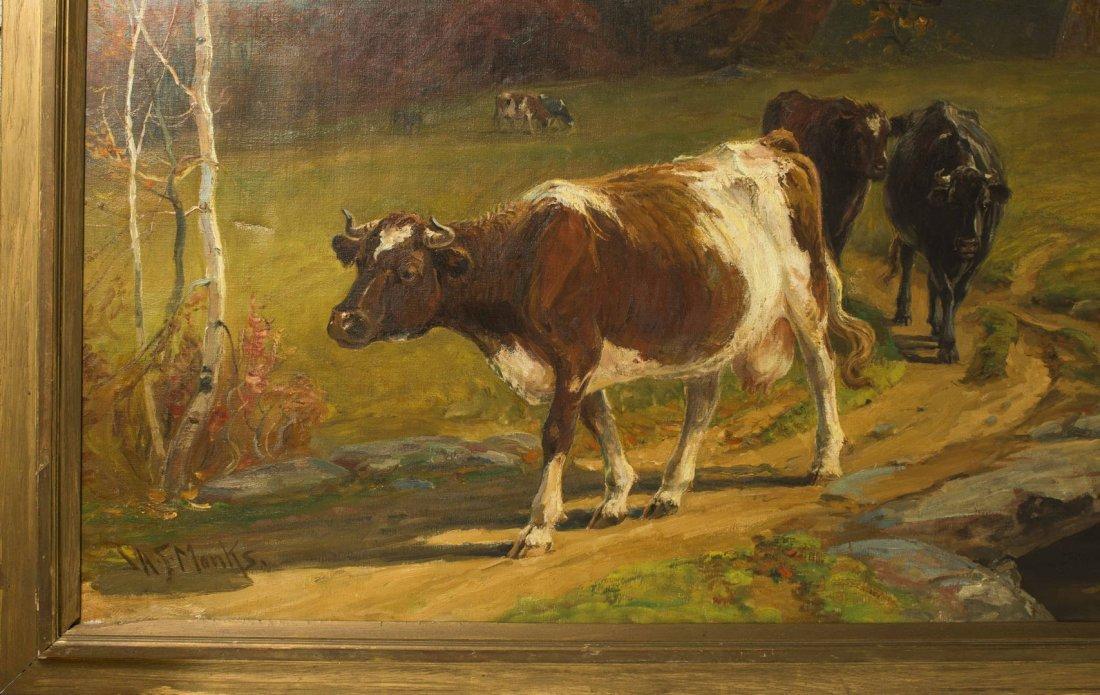 John Monks (1850-1917) Painting - 6