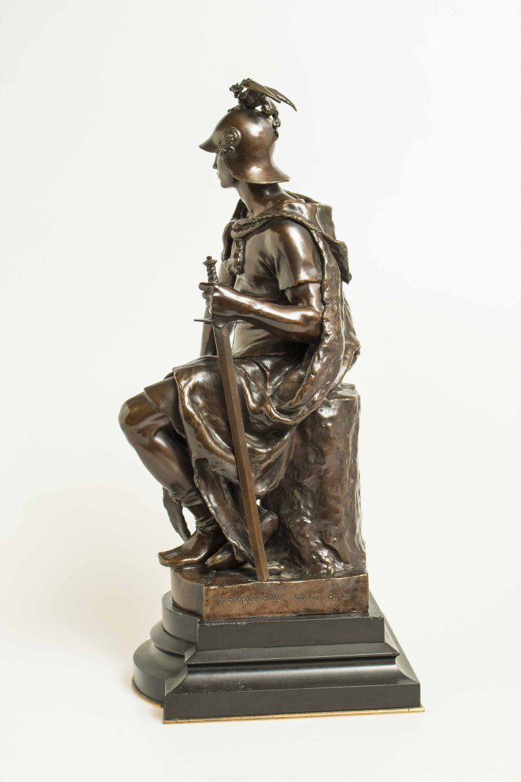 "Paul Dubois (1829-1905) Bronze ""Tribunal"" - 5"