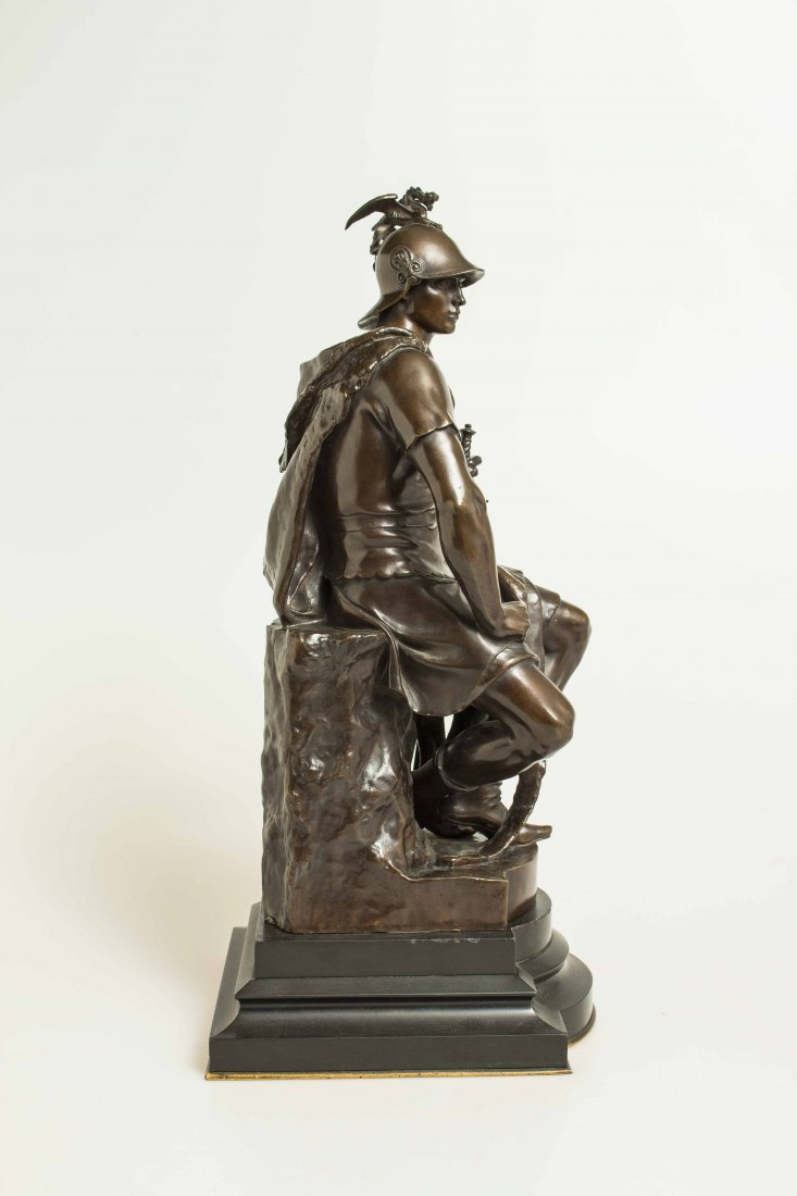 "Paul Dubois (1829-1905) Bronze ""Tribunal"" - 9"