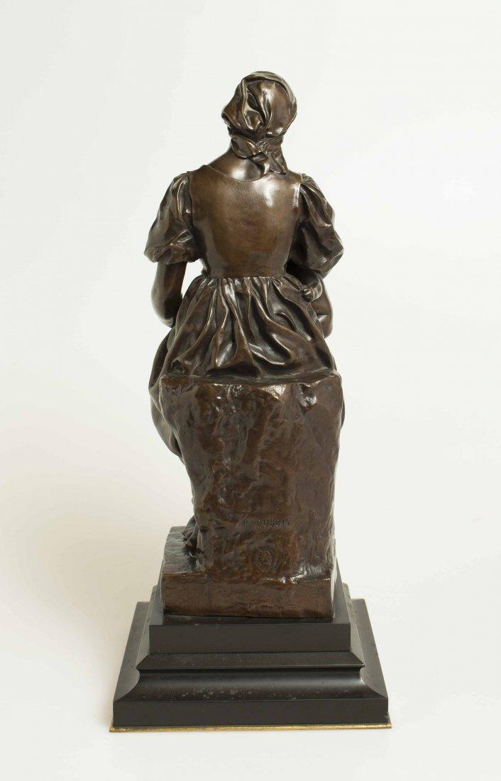 "Paul Dubois (1829-1905), Bronze ""Maternite"" - 6"
