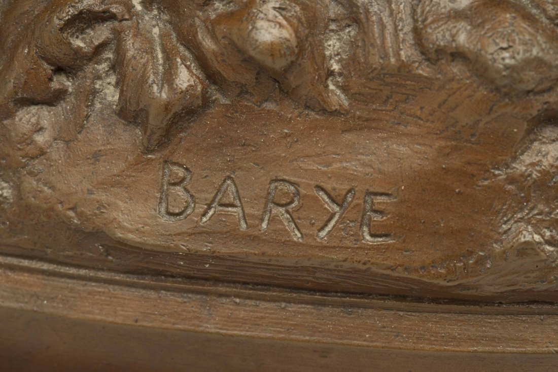 Alfred Bayre (1839-1882) Bronze Elephant - 2