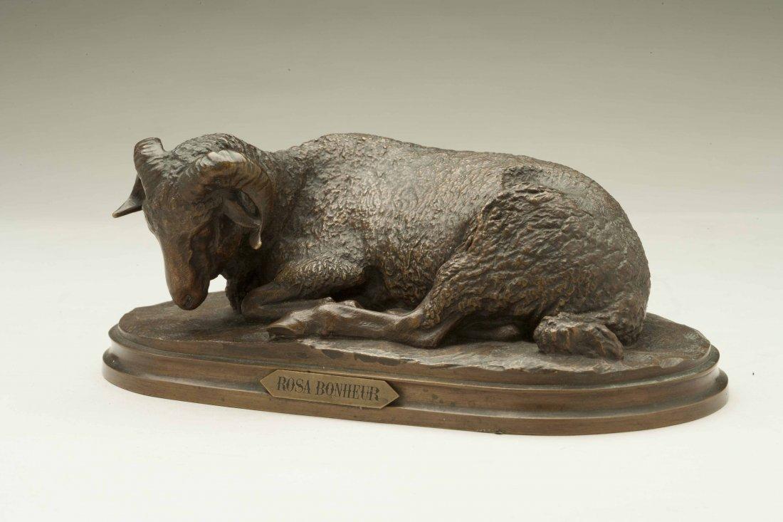 Bronze Sculpture, After Rosa Bonheur (1822-1899)