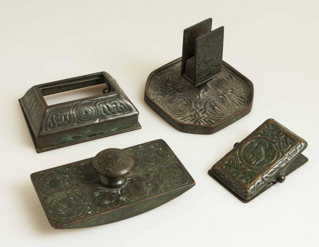 Tiffany Studios Zodiac Desk Set, 11 Piece - 6