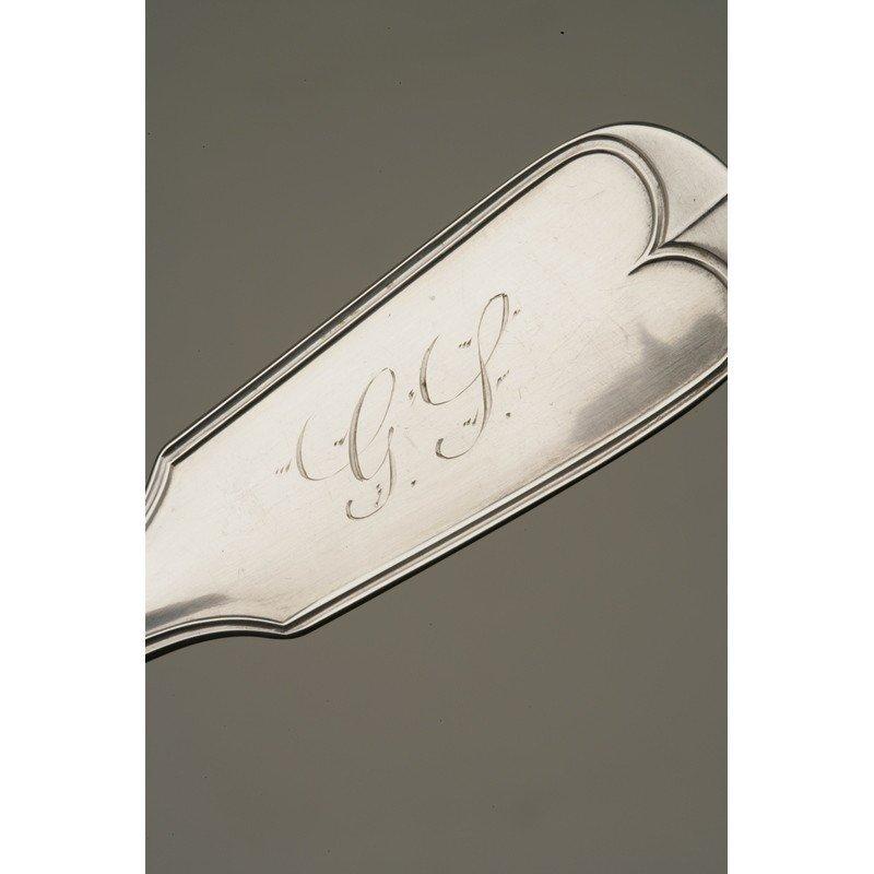 Braverman & Levy (1852-1881) Silver Spoons - 3