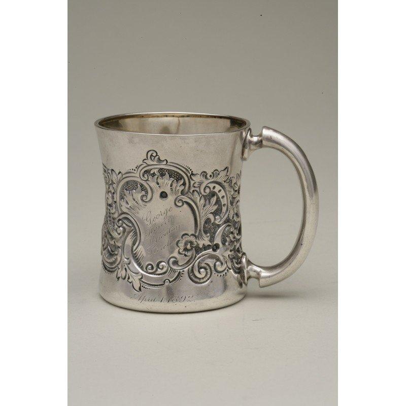 George Shreve & Co (1852-present) Sterling Mug