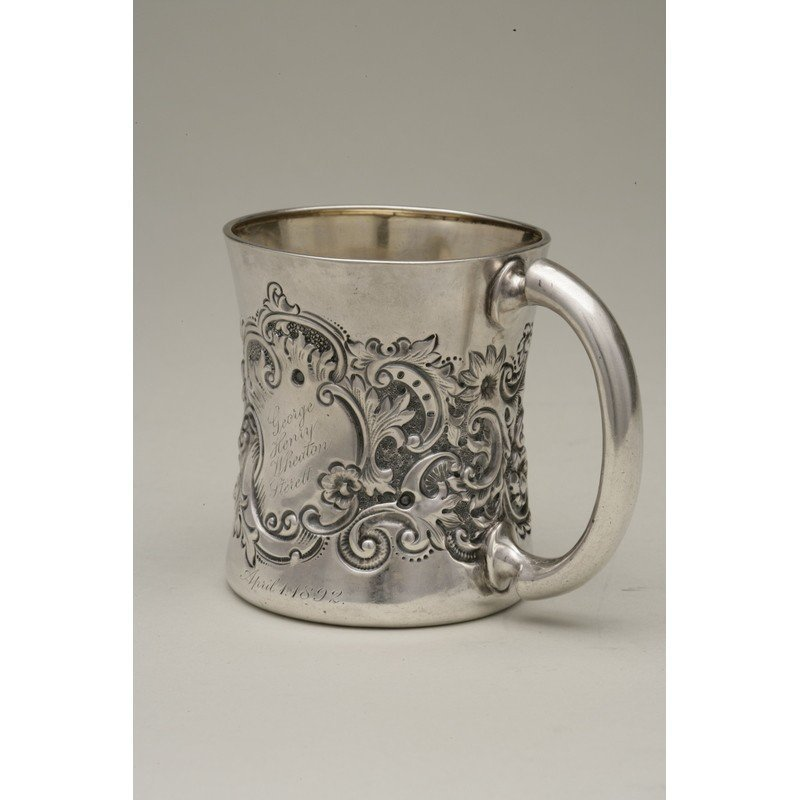 George Shreve & Co (1852-present) Sterling Mug - 2