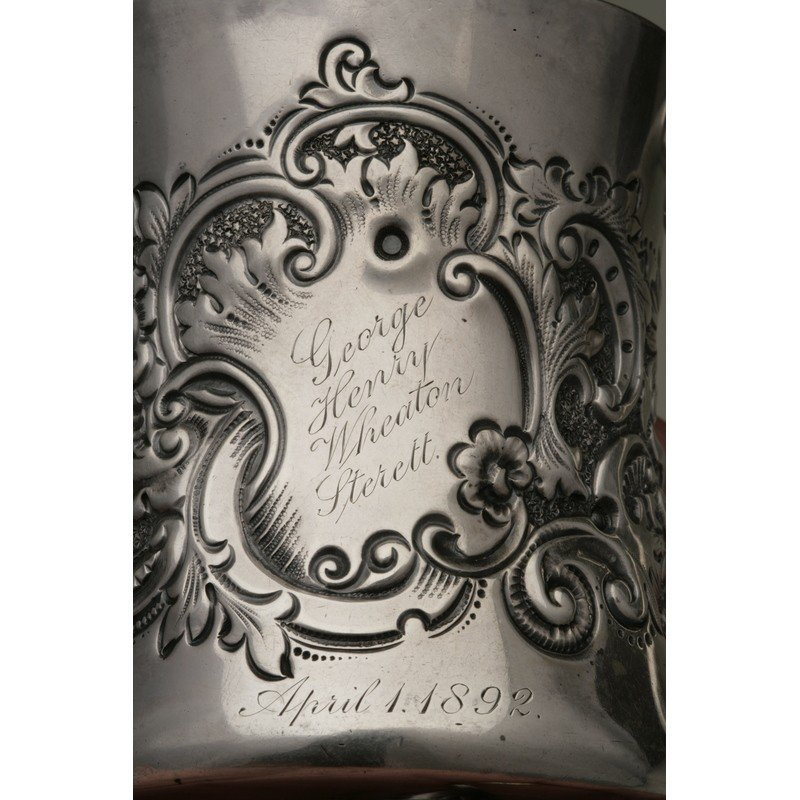 George Shreve & Co (1852-present) Sterling Mug - 3