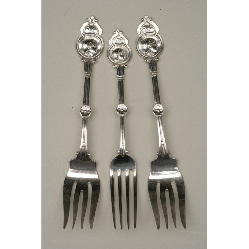 Shreve & Co (1852-present) Three Sterling Forks