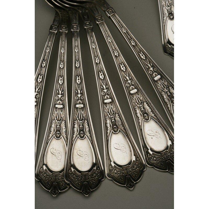Shreve & Co. (1852-present) Assorted Sterling Flatware - 2