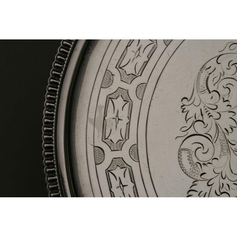 Shreve & Co. (1852-Present) Coin Silver Tray - 3