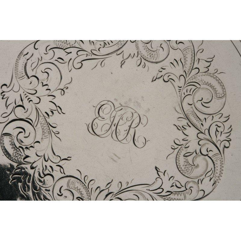 Shreve & Co. (1852-Present) Coin Silver Tray - 4