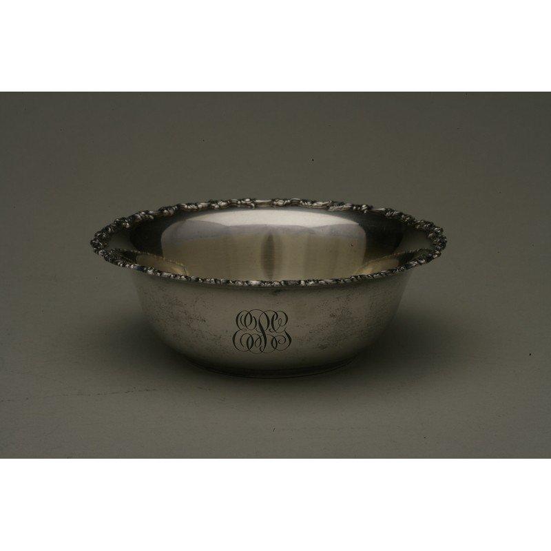 Shreve & Co. (1852-present) Sterling Bowl