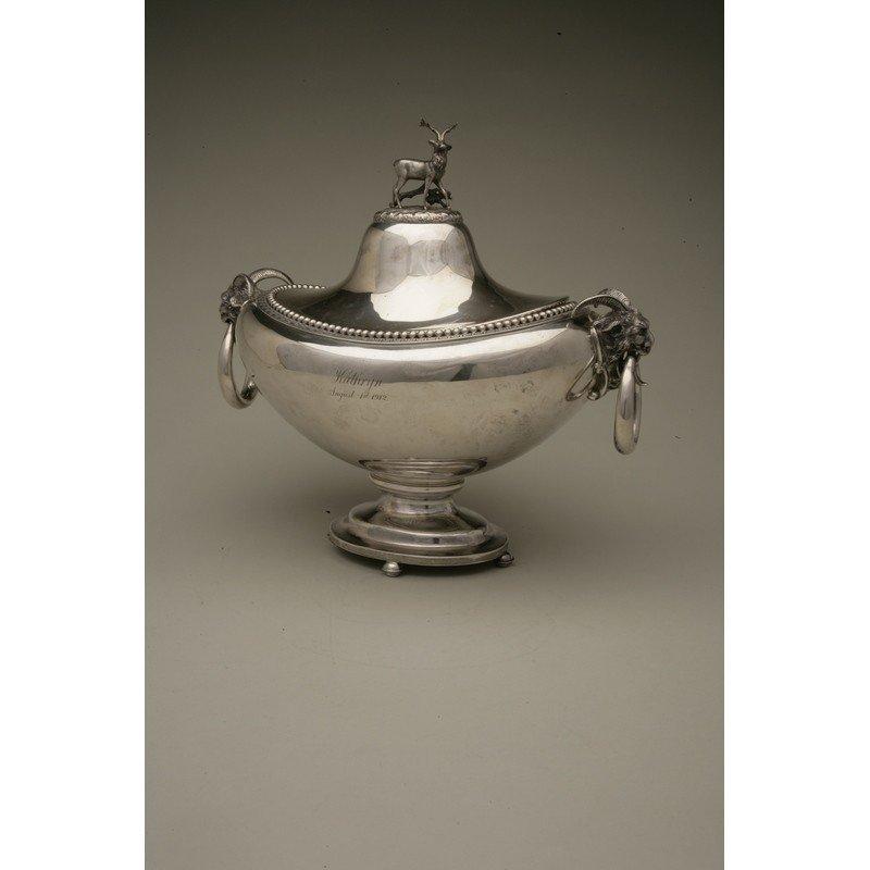 Vanderslice & Co/Shreve & Co Silver Covered Tureen - 2