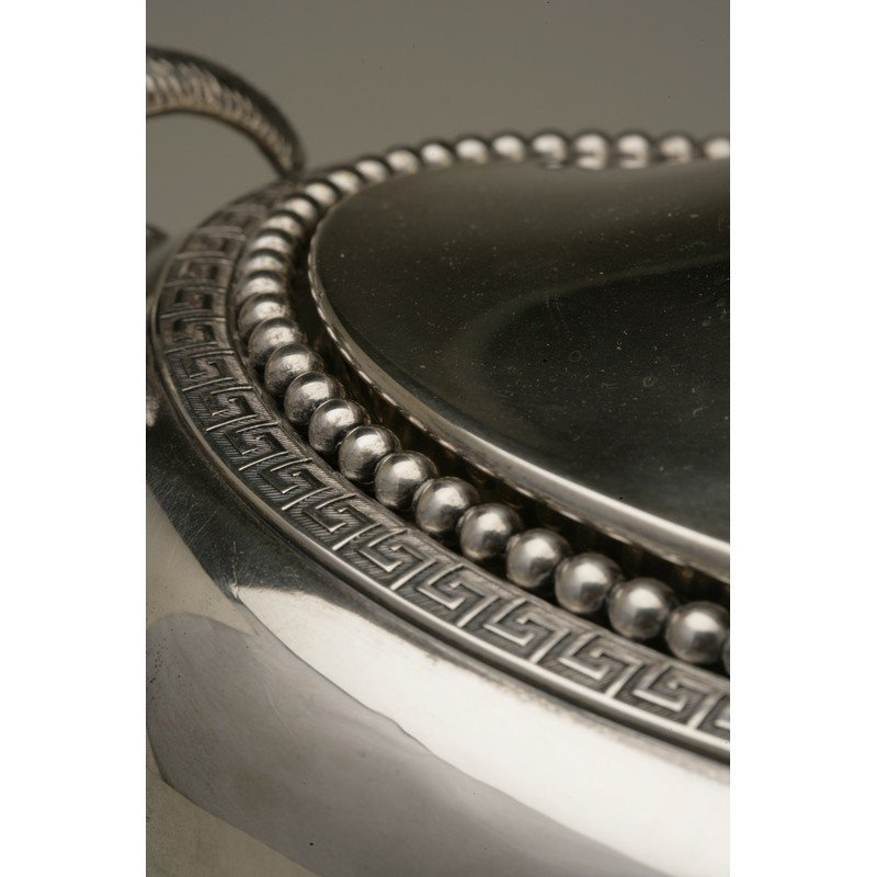 Vanderslice & Co/Shreve & Co Silver Covered Tureen - 5