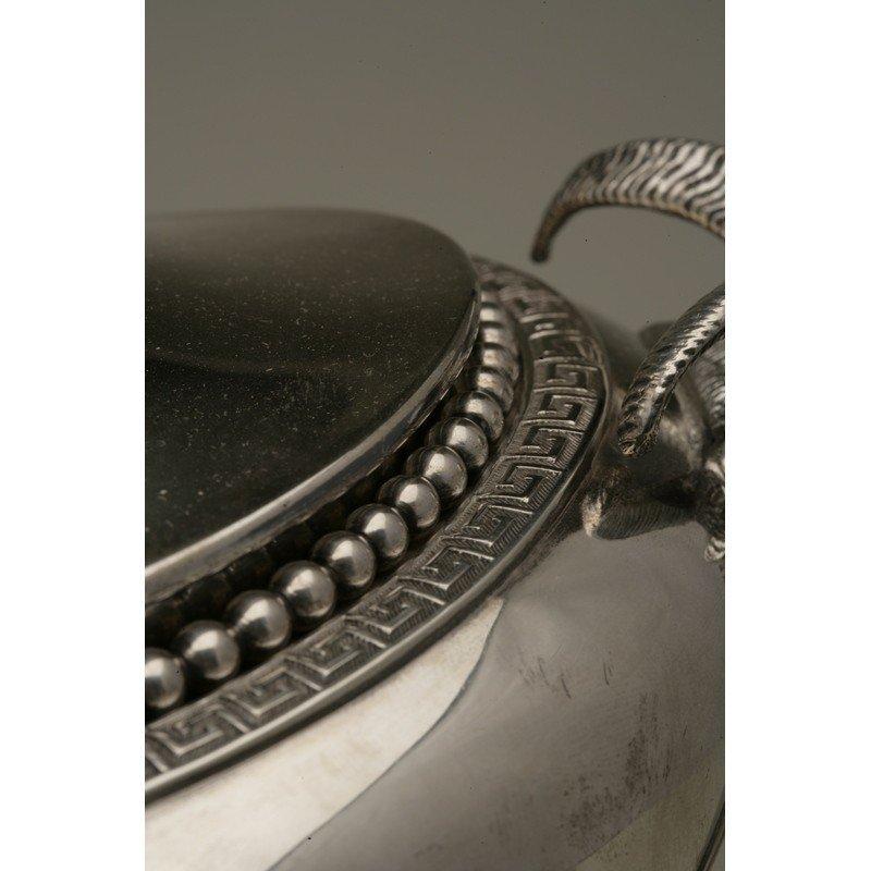 Vanderslice & Co/Shreve & Co Silver Covered Tureen - 6