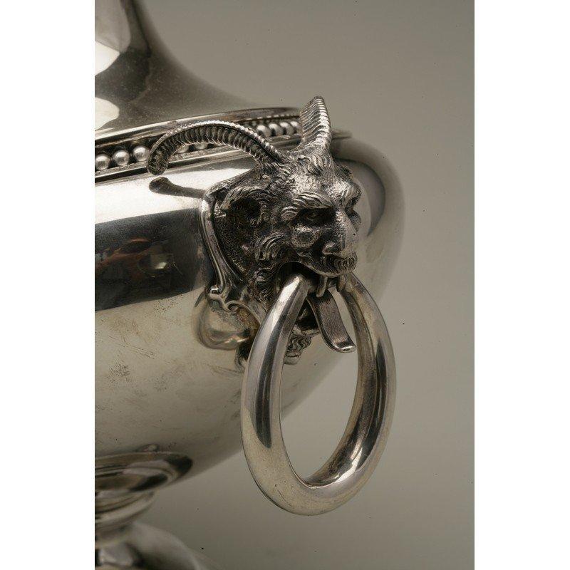 Vanderslice & Co/Shreve & Co Silver Covered Tureen - 8