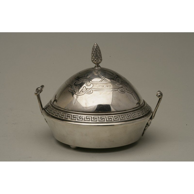 Vanderslice & Co (1858-1908) Silver Covered Butter Dish