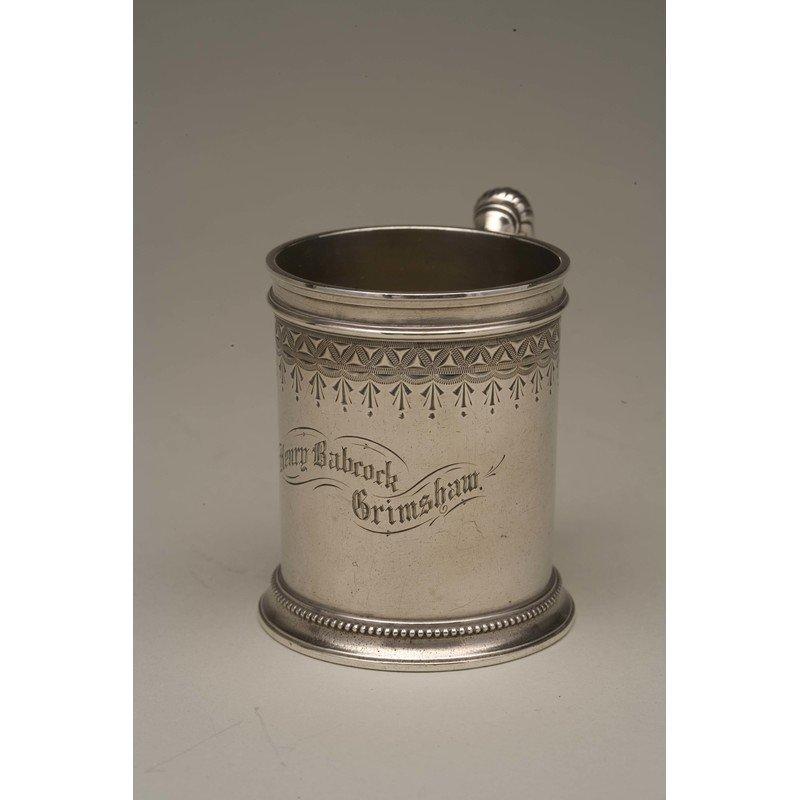 Vanderslice & Co (1858-1908) Silver Mug - 2