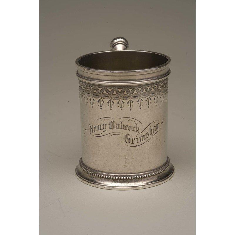 Vanderslice & Co (1858-1908) Silver Mug - 3
