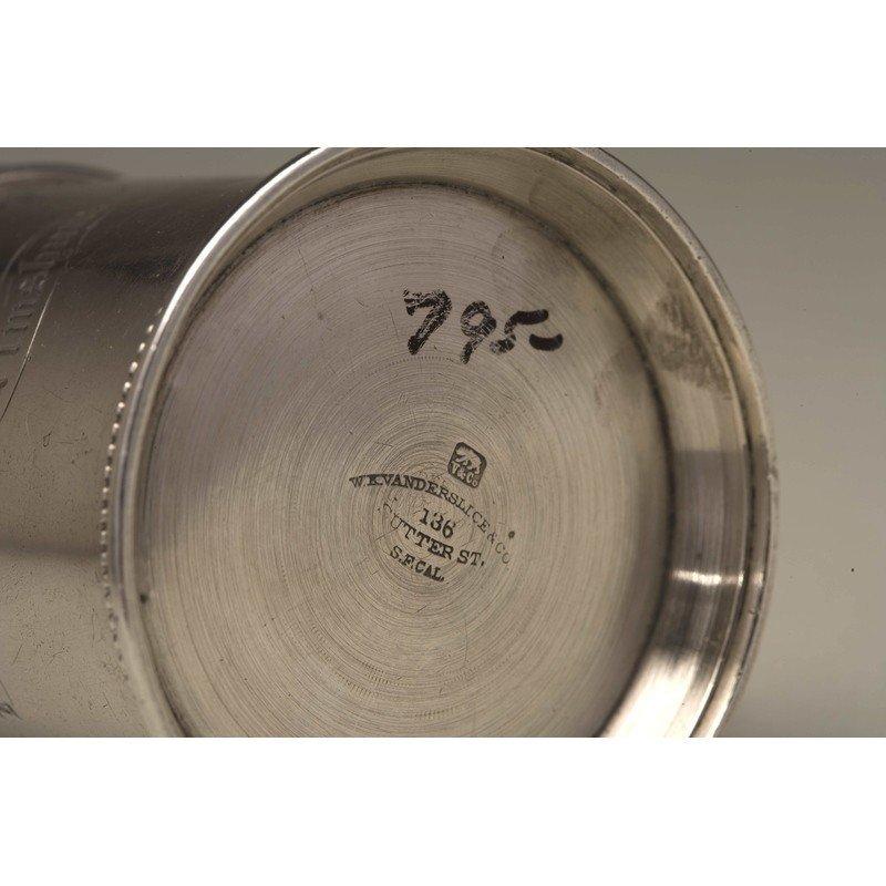Vanderslice & Co (1858-1908) Silver Mug - 4