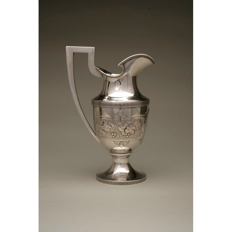Vanderslice & Co. (1858-1908) Coin Silver Water Pitcher
