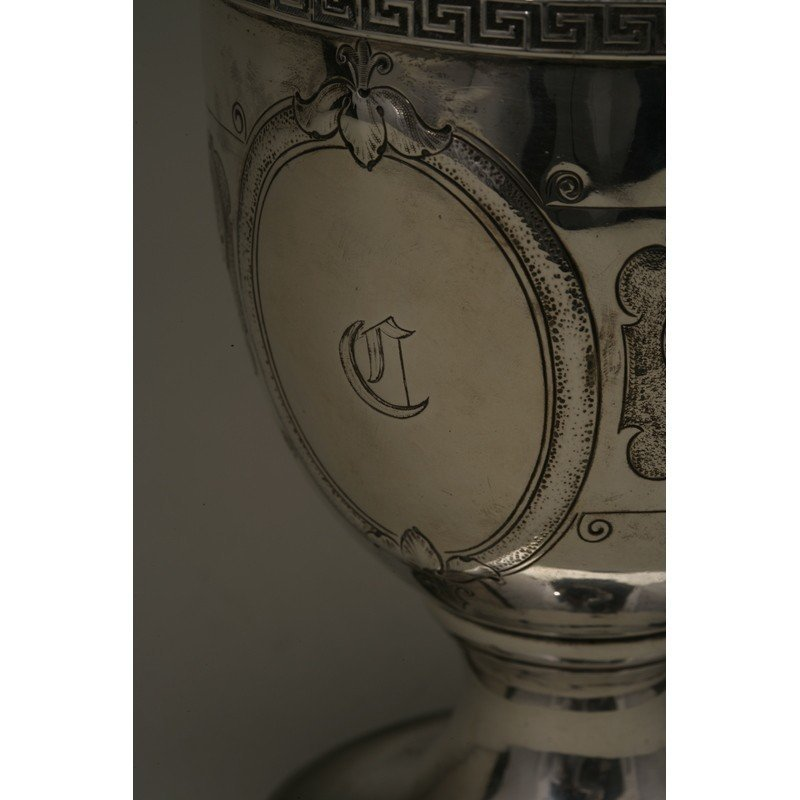 Vanderslice & Co. (1858-1908) Coin Silver Water Pitcher - 2