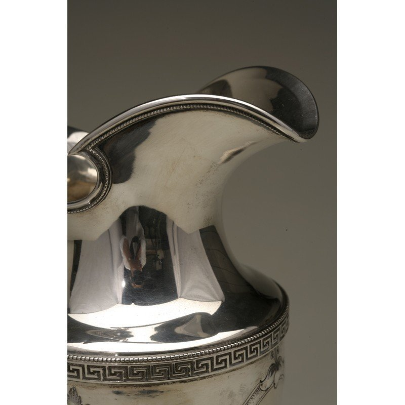 Vanderslice & Co. (1858-1908) Coin Silver Water Pitcher - 7