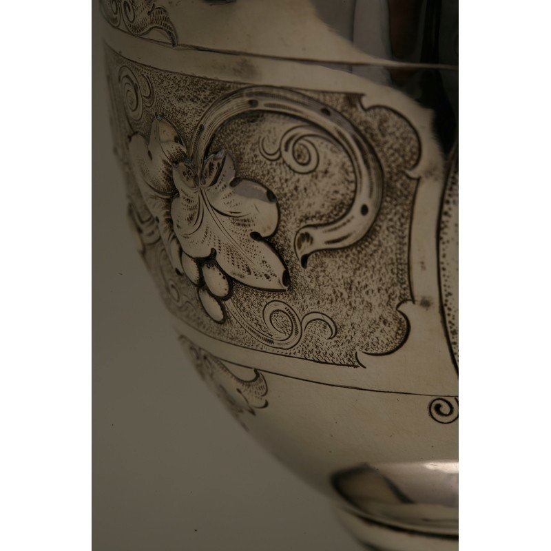 Vanderslice & Co. (1858-1908) Coin Silver Water Pitcher - 9