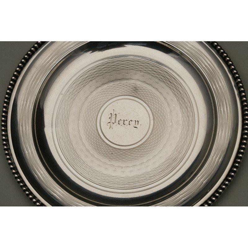 Vanderslice & Co.(1858-1908)  Two Silver Bread Plates - 2
