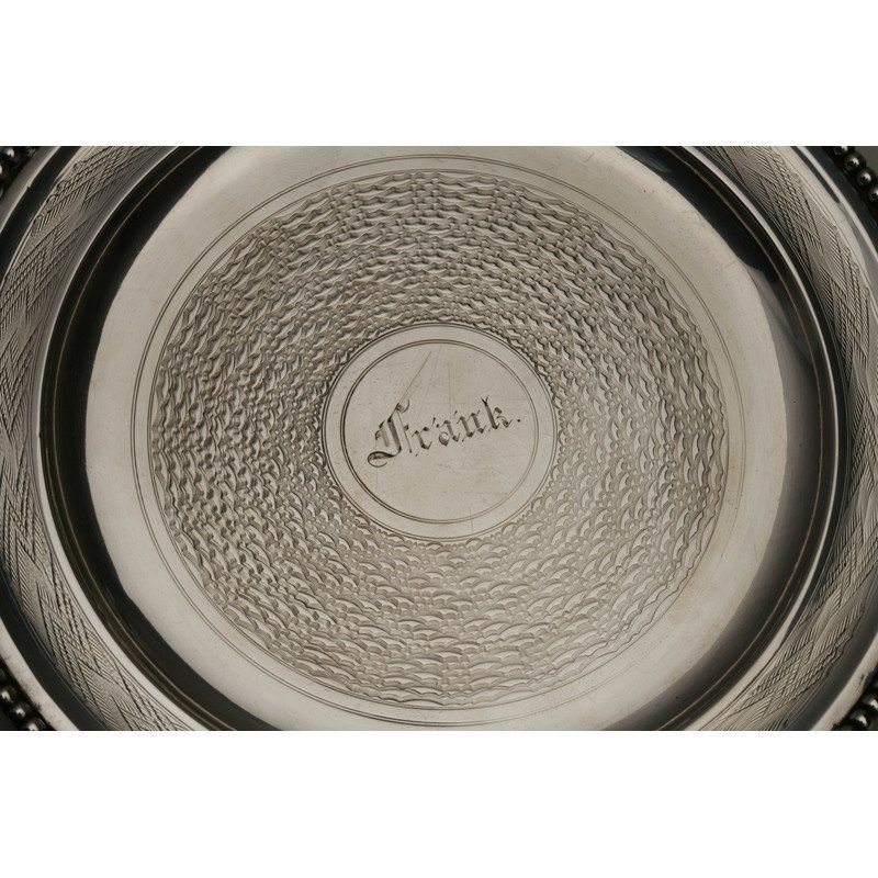 Vanderslice & Co.(1858-1908)  Two Silver Bread Plates - 4