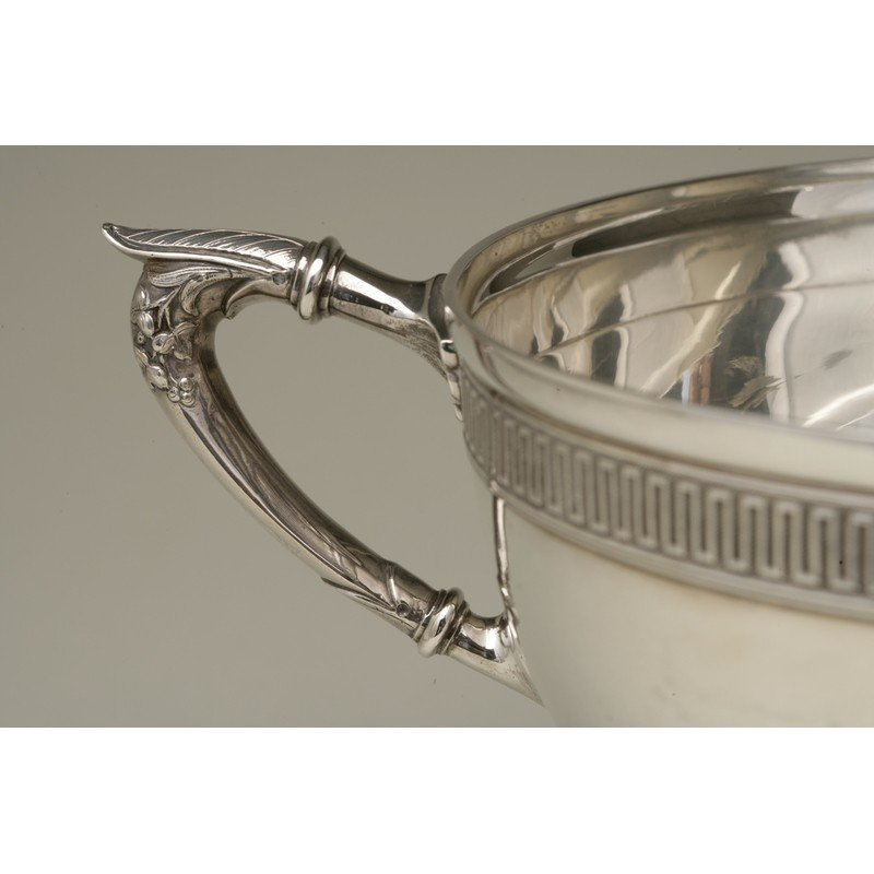 Vanderslice & Co. (1858-1908) Silver Centerpiece Bowl - 3