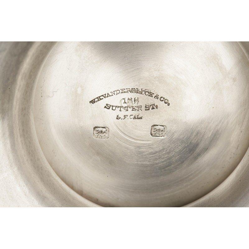 Vanderslice & Co. (1858-1908) Silver Centerpiece Bowl - 4
