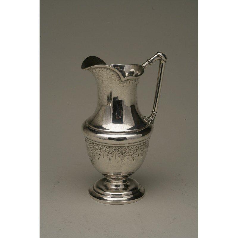 Vanderslice & Co. (1858-1908) Silver Syrup Pitcher