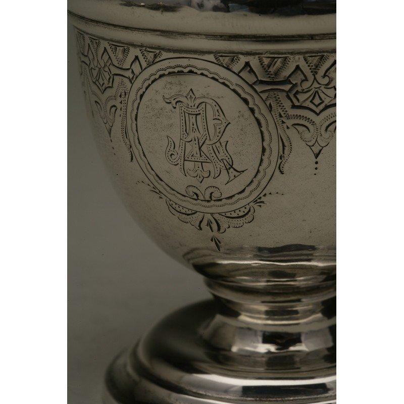 Vanderslice & Co. (1858-1908) Silver Syrup Pitcher - 2