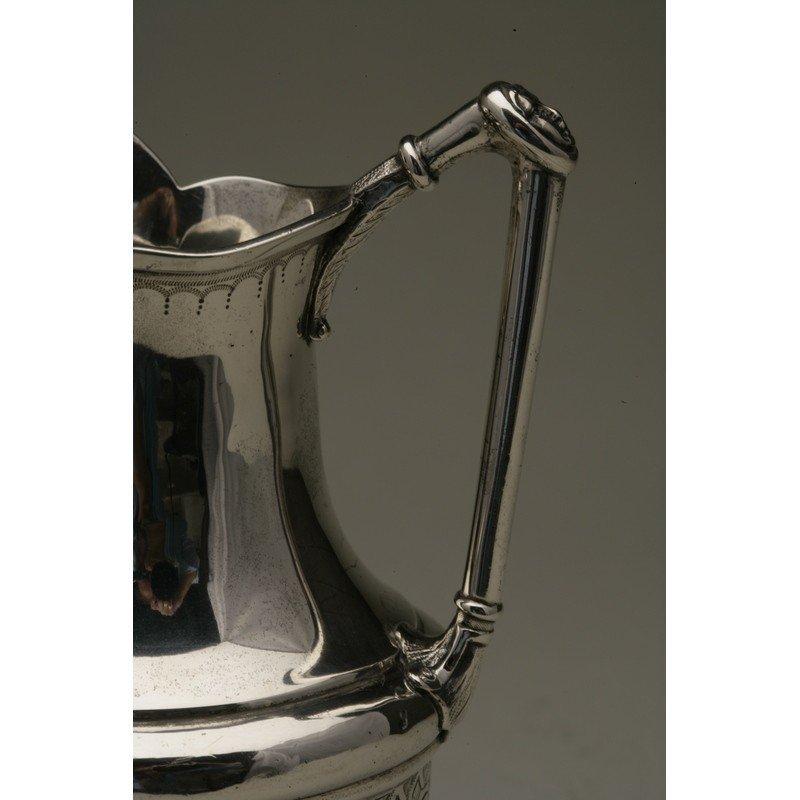 Vanderslice & Co. (1858-1908) Silver Syrup Pitcher - 4