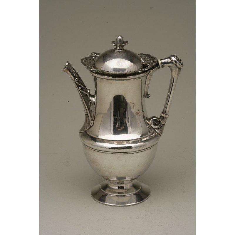 W.K. Vanderslice & Co. (1858-1908) Silver Coffee Pot - 6