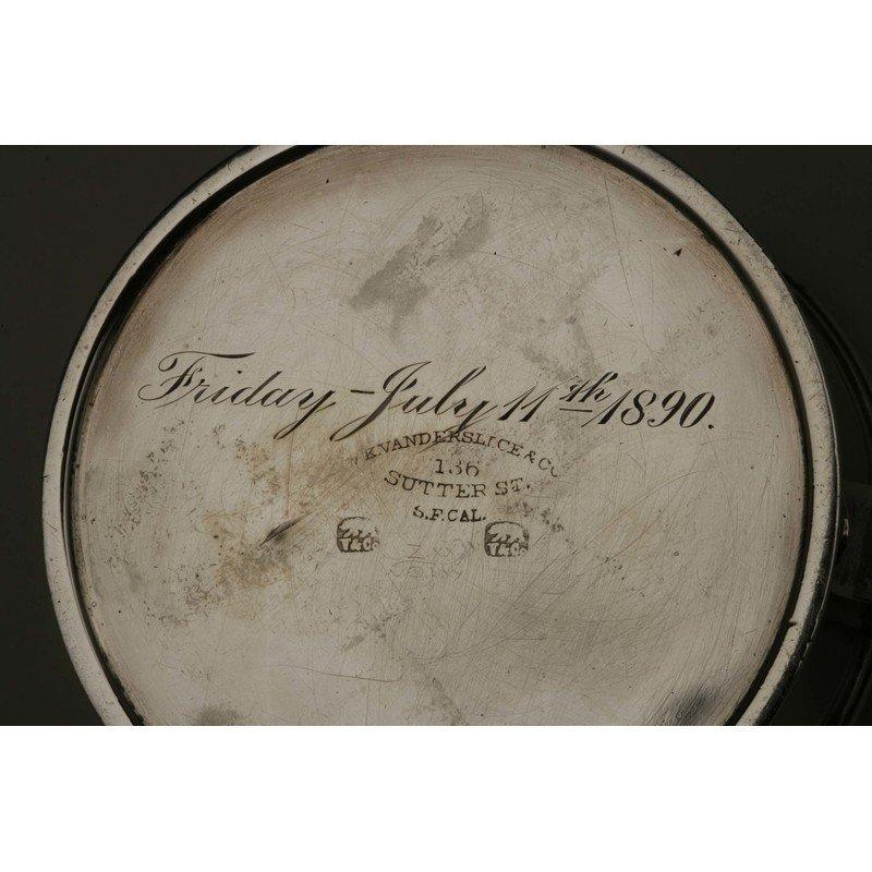 Vanderslice & Co. (1858-1908) Silver Presentation Cup - 4