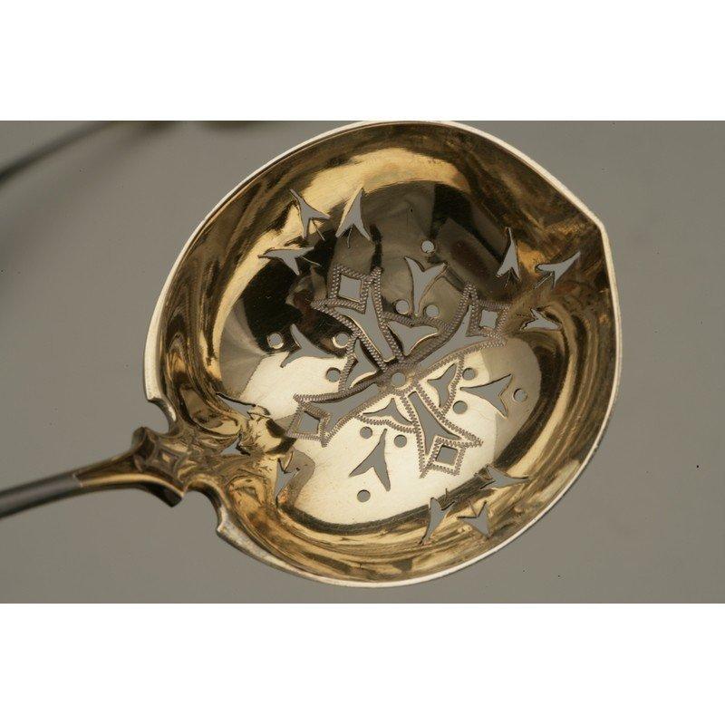 Vanderslice & Co. (1858-1908) Silver Pierced Ladle - 2