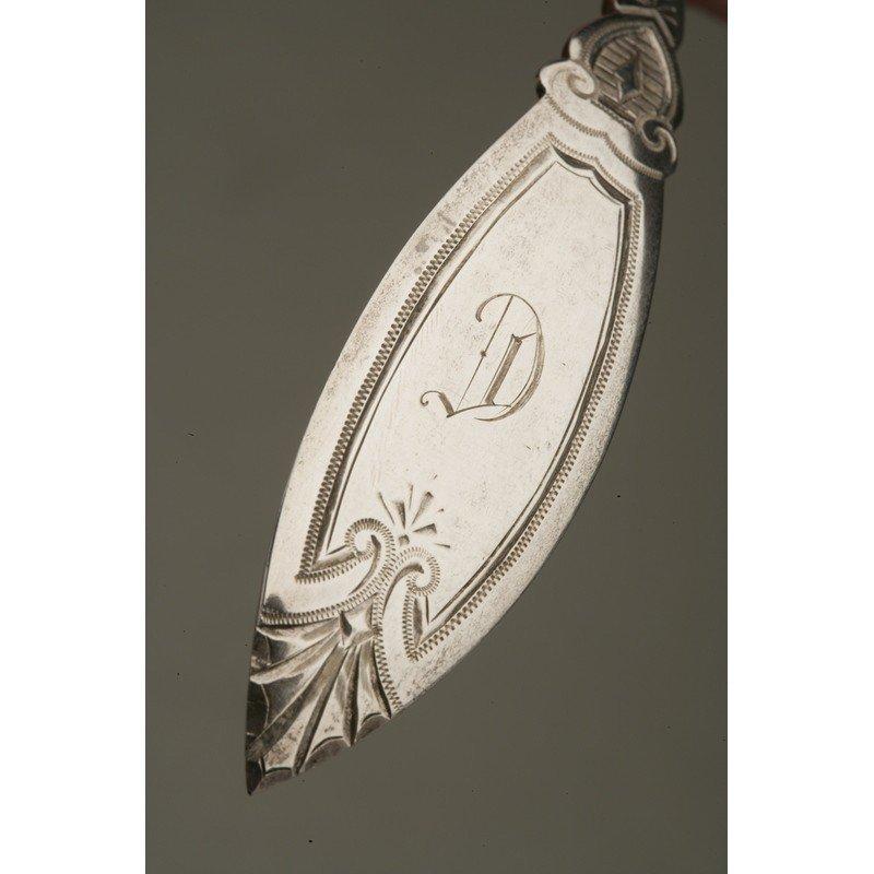 Vanderslice & Co. (1858-1908) Silver Pierced Ladle - 3