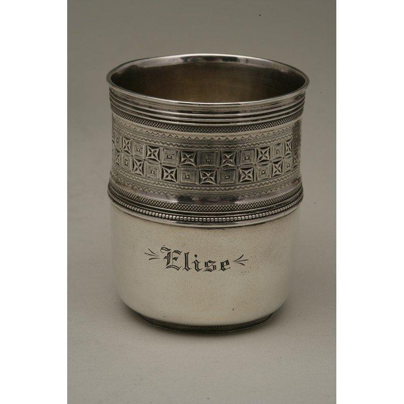 Vanderslice & Co. (1858-1908) Sterling Cup