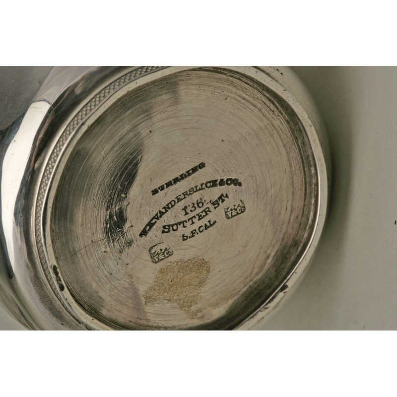 Vanderslice & Co. (1858-1908) Sterling Cup - 4