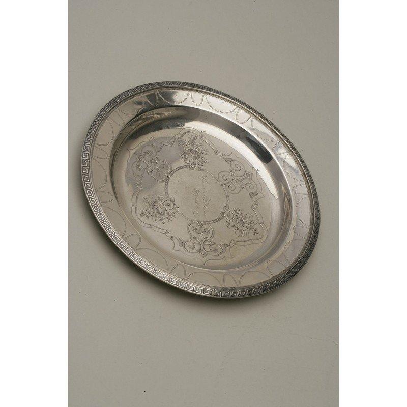 Vanderslice/Tucker Silver Bread Plate
