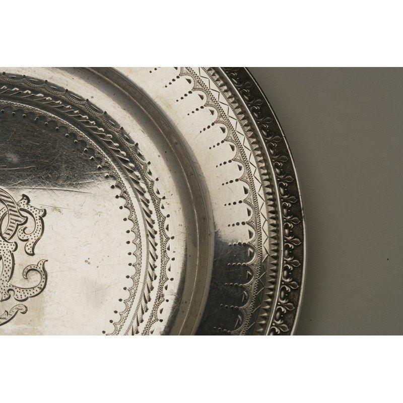Vanderslice & Co. (1858-1908) Silver Bread Plate - 3
