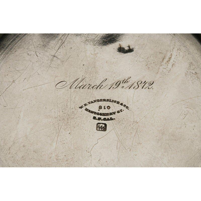 Vanderslice & Co. (1858-1908) Silver Bread Plate - 4