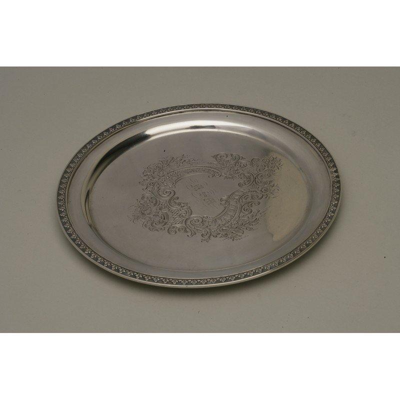 Vanderslice & Co. (1858-1908) Coin Silver Bread Plate
