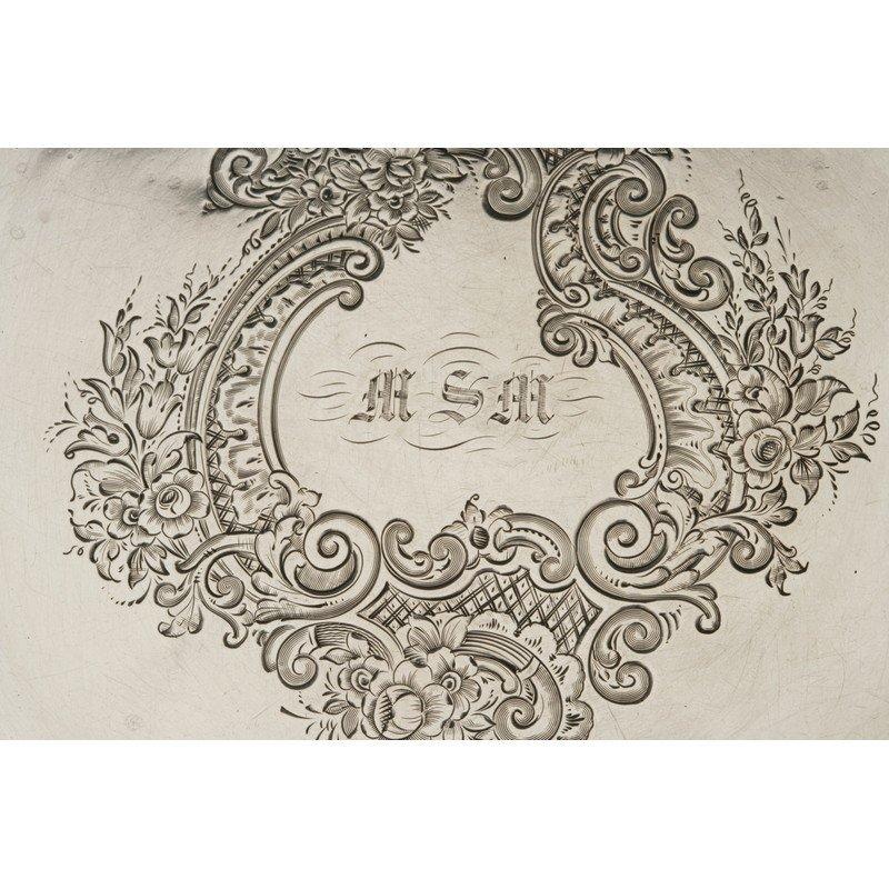 Vanderslice & Co. (1858-1908) Coin Silver Bread Plate - 2